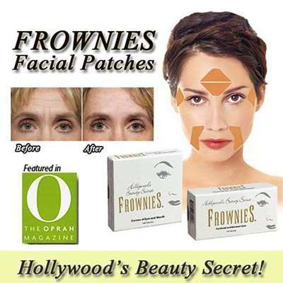 Frownies: cerotti facciali per le rughe glabellari