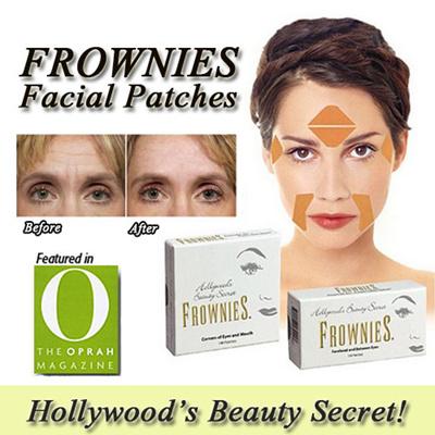 Frownies: i cerotti facciali per le rughe glabellari