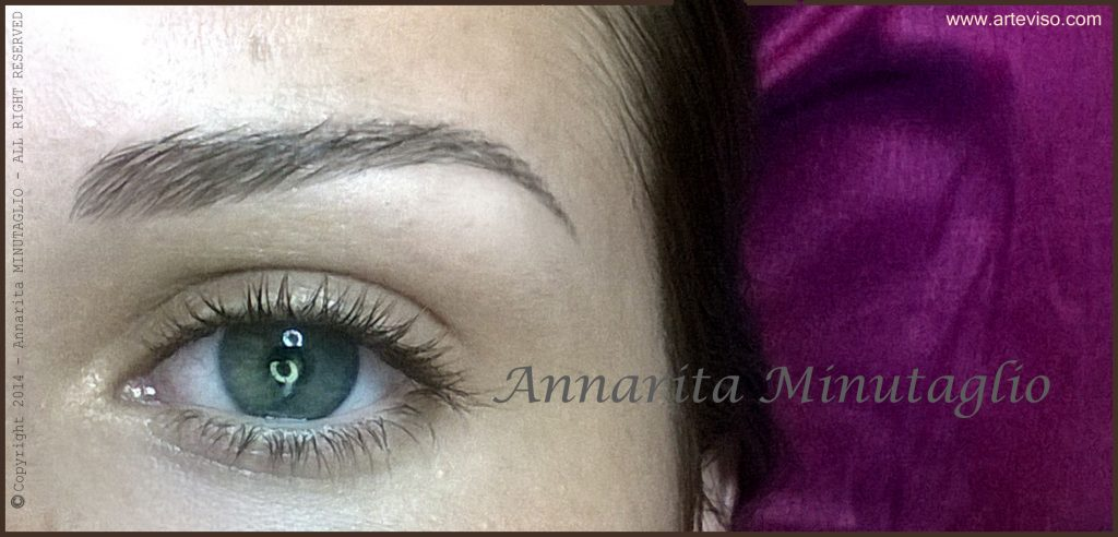 Annarita Minutaglio esperta di trucco permanente delle sopracciglia ed estetica del viso