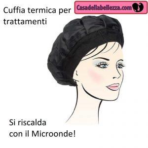 Usa durante le maschere ai capelli cuffie termiche (si scaldano al  microonde) che aumentano i benefici degli impacchi preshampo. ef621ef54868