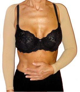 Guaina modellante per le braccia: utile a rimodellarle e a eliminare le odiose ali di gabbiano.