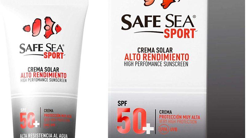 Crema solare resistente all'acqua e al sudore