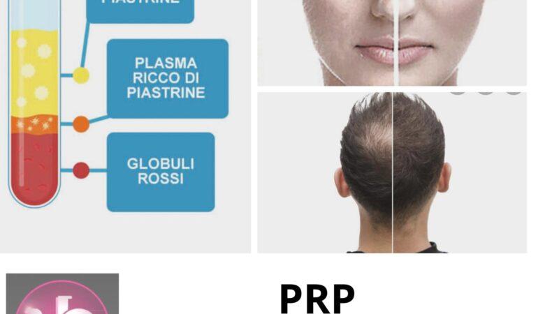 PRP il top per capelli e pelle